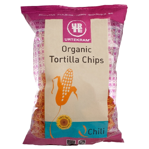 Tortilla Chips Organic Chili