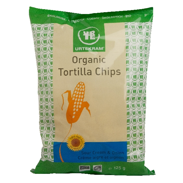 Tortilla Chips Organic Onion